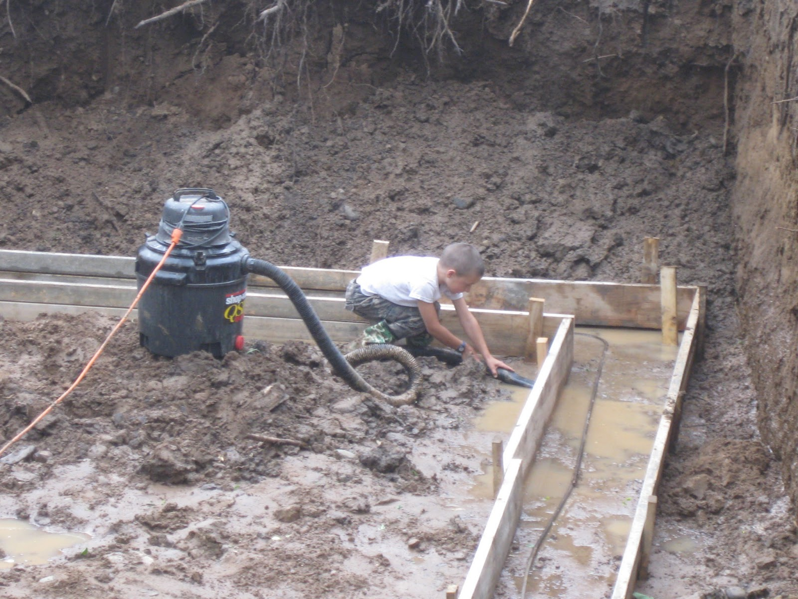 room for more drain tile