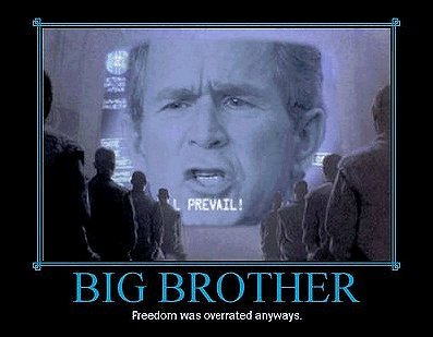 Radioman's Kansas City: Big Brother BUSH was watching the other ...