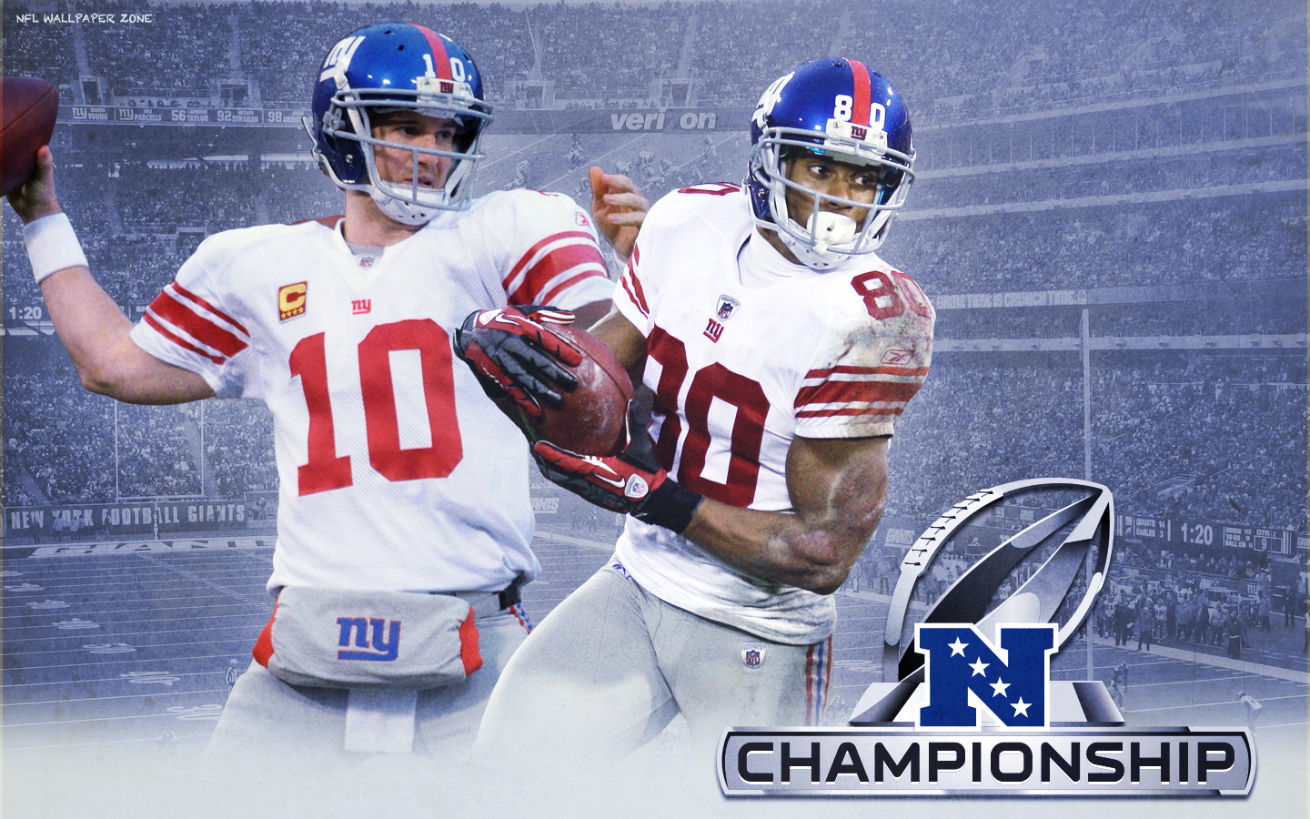 New York Giants NFC Championship Wallpaper 2012
