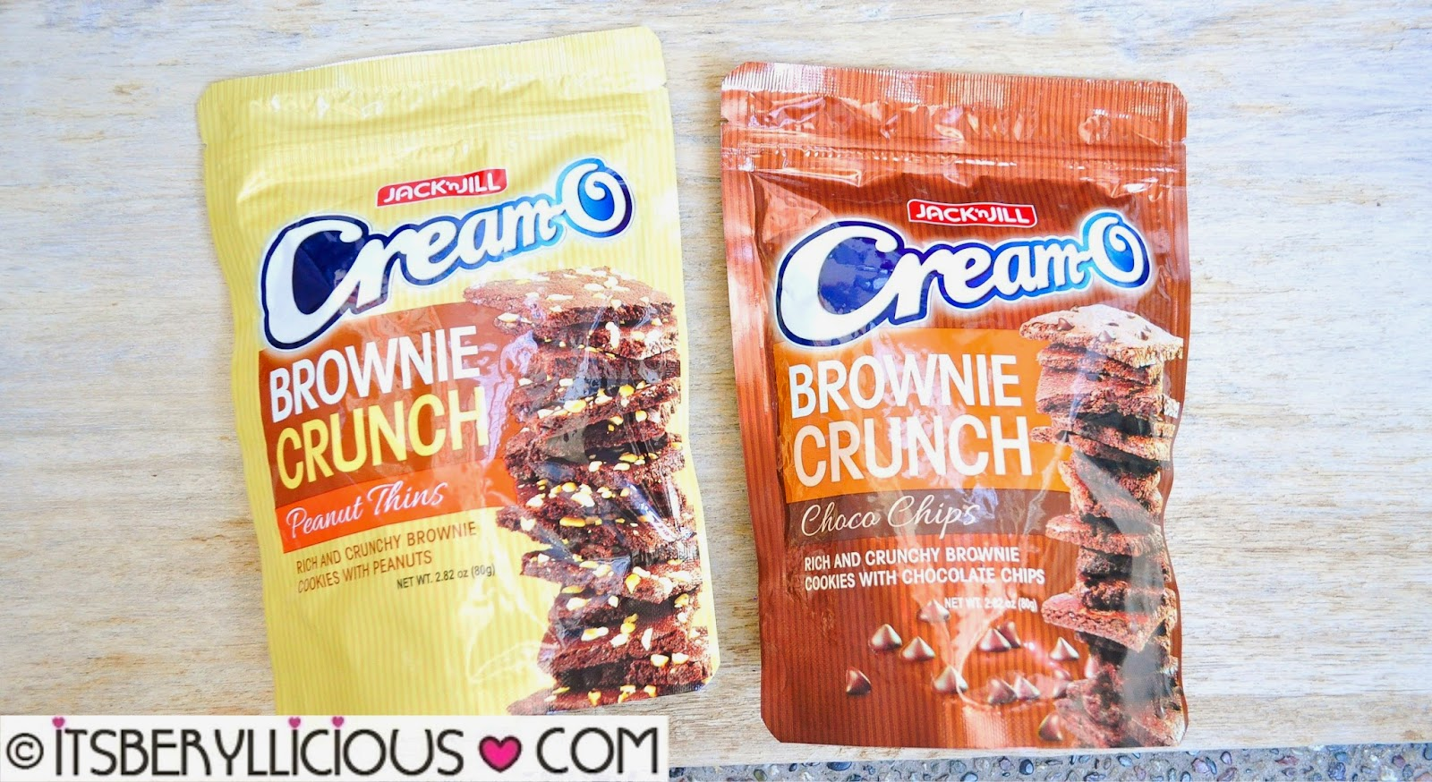 Jack 'n Jill Cream-O Brownie Crunch Peanut Thins and Choco Chips for ...
