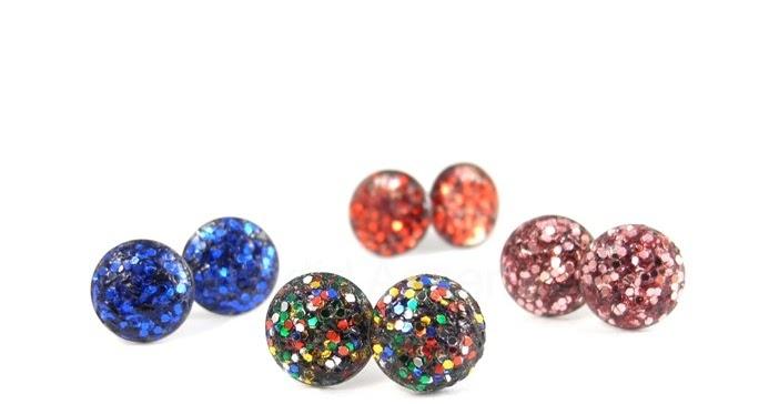 Craftymeesa Diy Glitter Earrings Amp Earring Holder