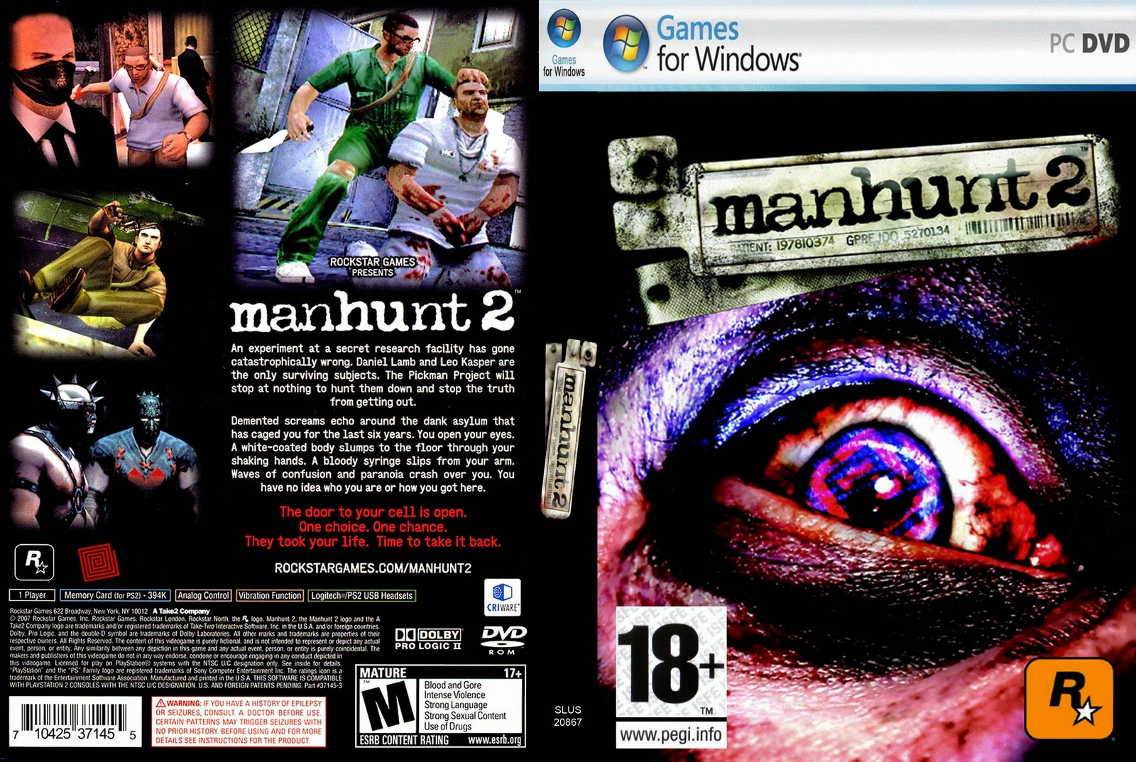 تحميل لعبة Manhunt 2