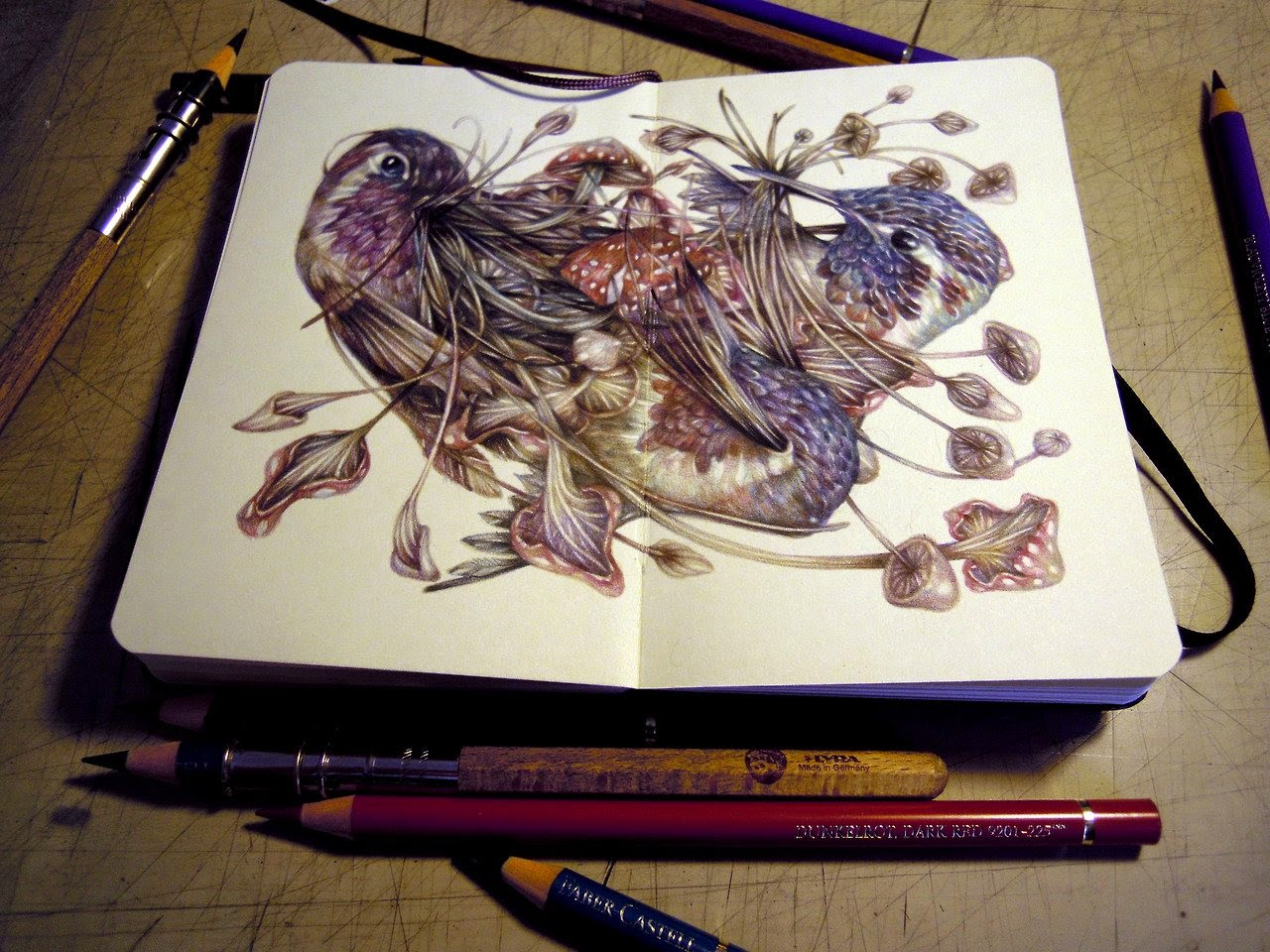 18-Marco-Mazzoni-Surreal-Animal-Drawings-www-designstack-co