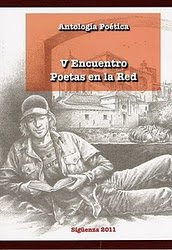 Portada del Libro: Antología Poética. V Encuentro de Poetas en la Red. Sigüenza.