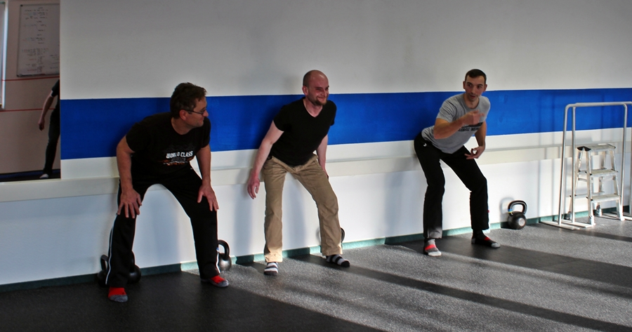 swing lehren bei Enter the Kettlebell Seminar