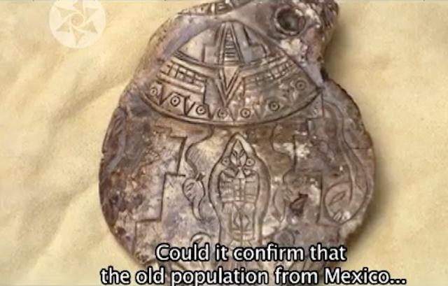 Ufo sightings daily ancient aztecs met aliens stone
