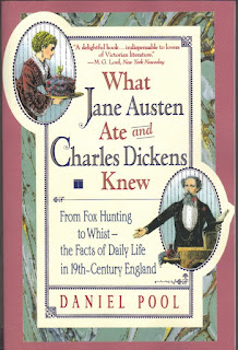 Book cover: What Jane Austen Ate and Charles Dickens Knew