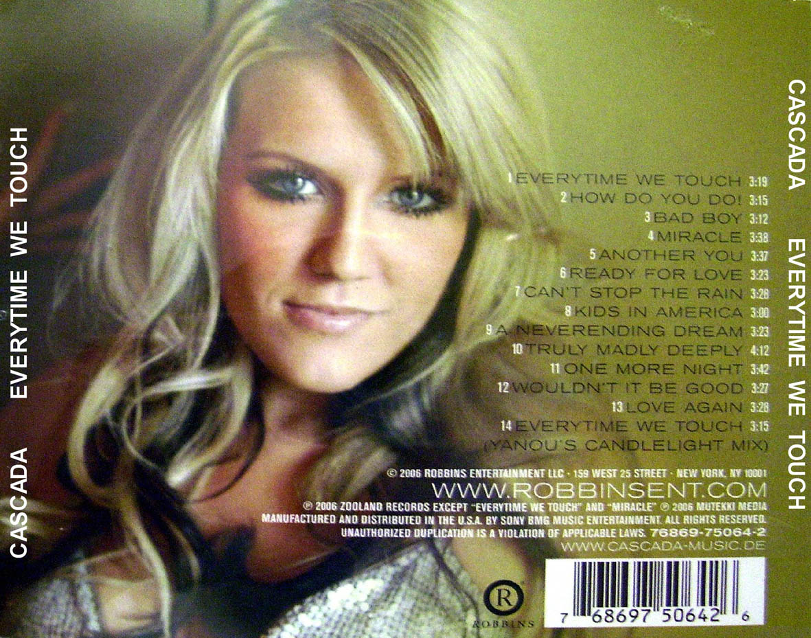 Cascada Everytime We Touch Video Everytime We Touch - C...