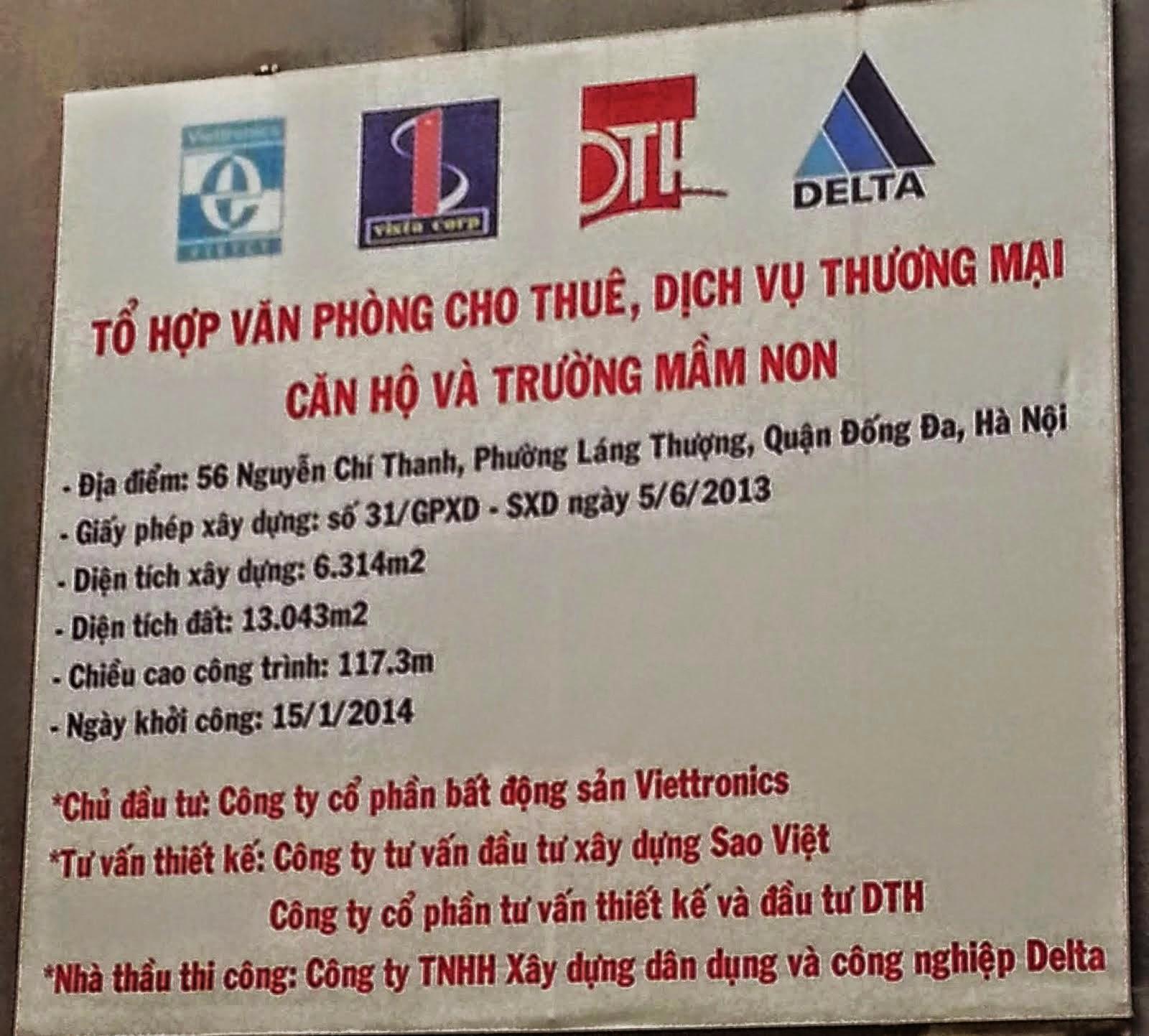 Chung Cư 56 Nguyễn Chí Thanh