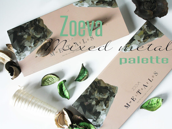 Zoeva 'Mixed Metals' palette ~ First impressions & Swatches