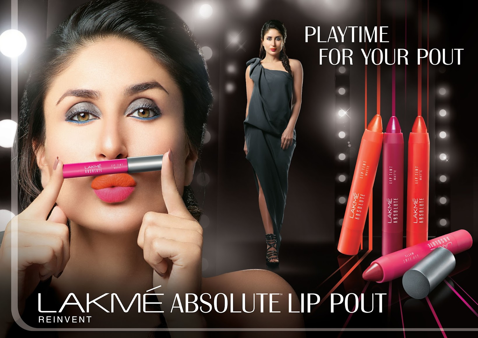 It's playtime for your pout with Lakmé Absolute Lip Pout- Press Release, Lakme Fashion Week, Indian beauty blogger