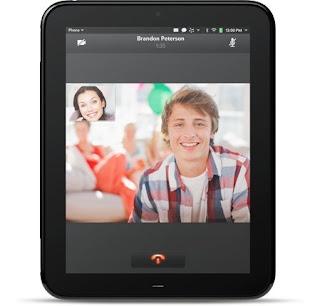 Videollamada Hp Touchpad