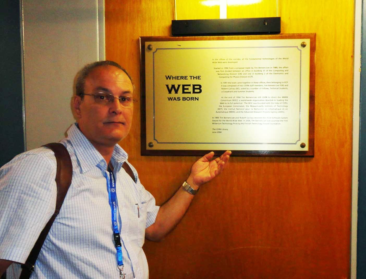 Aqui nasceu a WEB