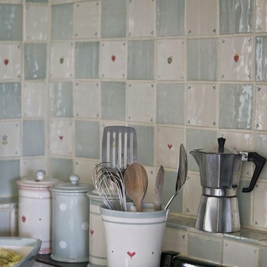 Azulejos para decorar la cocina de forma original 1001 - Azulejos para la cocina ...