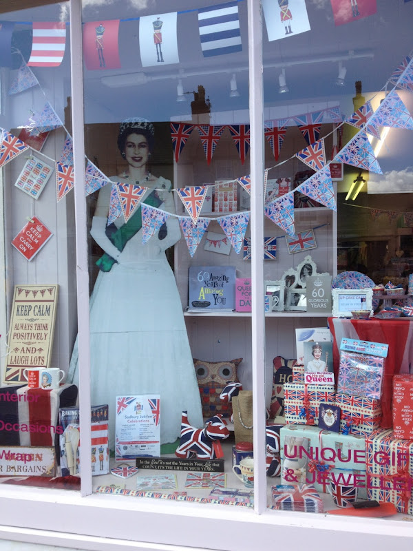 Queens Diamond Jubilee window display