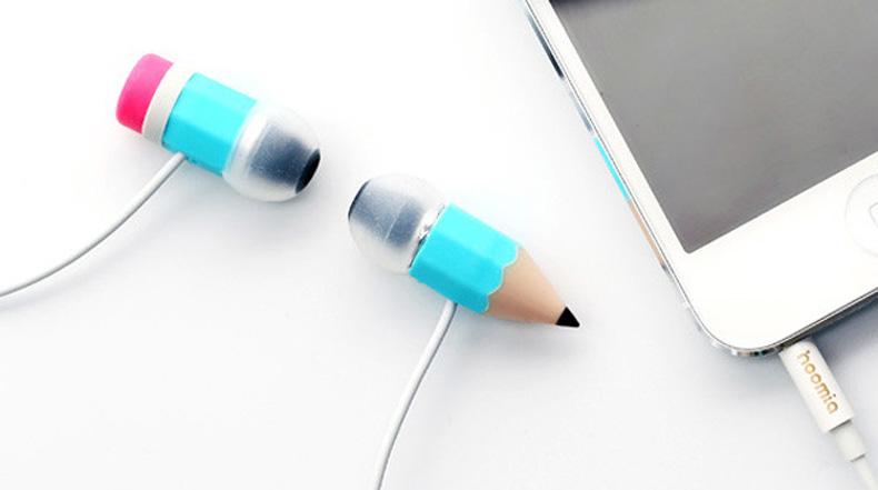 Estos auriculares te harán parecer que tienes un lápiz atravesando tu cabeza