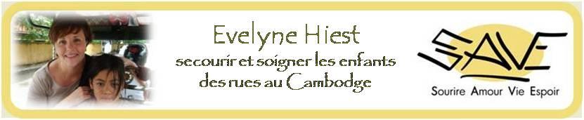 Evelyne HIEST au Cambodge