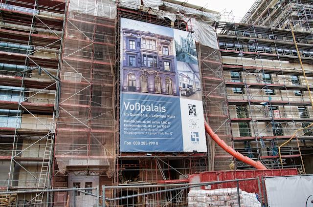 Baustelle Voßpalais im Quartier am Leipziger Platz, Voßstraße, 10117 Berlin, 22.12.2013
