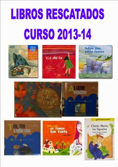 LIBROS RESCATADOS NO 2013-14