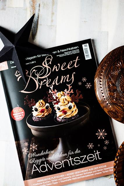 Living at home, Sweet Dreams, Lieblingszeitschrift, Weihnachtsinspiration,Qualitytime, Espresso geniessen