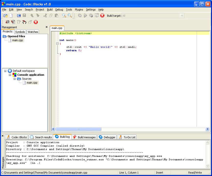 Hu?ng d?n cai d?t Code::Blocks va MINGW b?ng hinh ?nh (Dung d? l?p trinh C/C++) chisenhungdamme