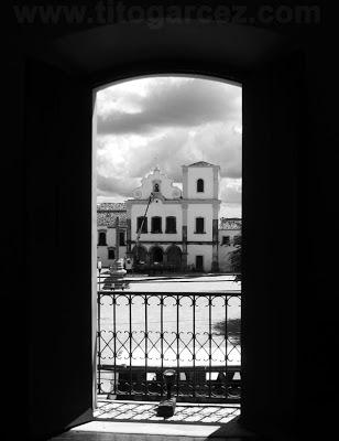 Igreja de São Francisco vista desde o Museu Histórico de Sergipe, em São Cristóvão - Sergipe - Por Tito Garcez