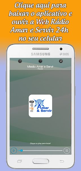 App Web Rádio Amar e Servir