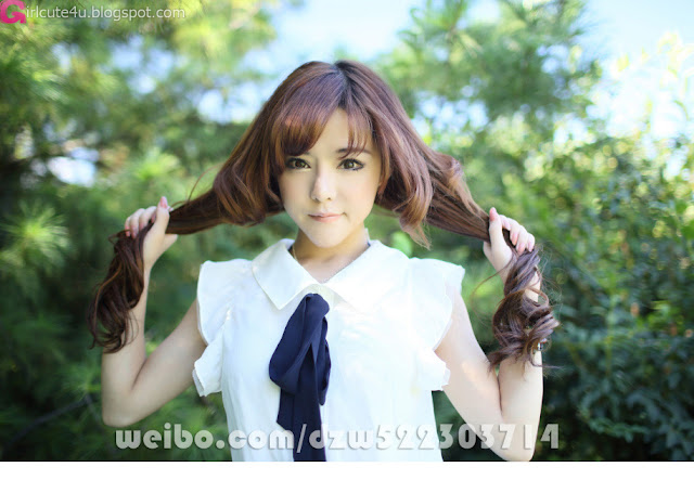 3 Duan Zhi Wei Lang - cute sweetheart-Very cute asian girl - girlcute4u.blogspot.com