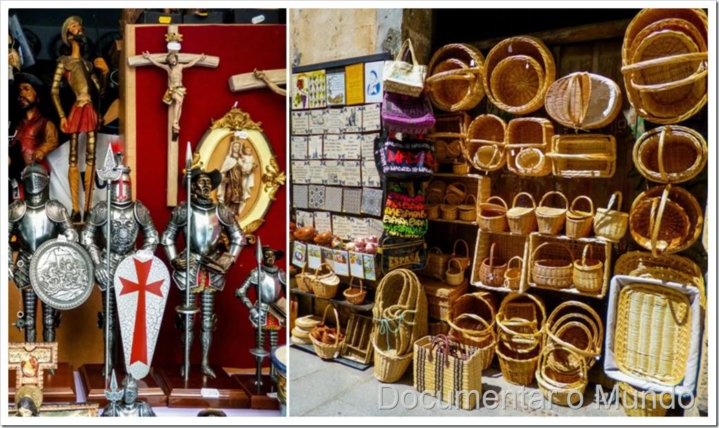 Lojas de artesanato de Segóvia