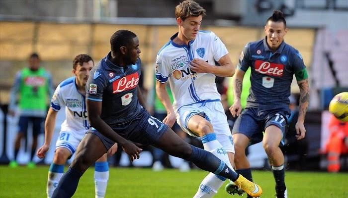 Empoli vs Napoli en vivo