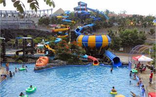 Kediri Waterpark: Wisata Belajar dan Bermain Kota kediri
