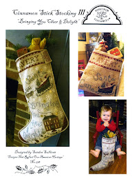 Cinnamon Stick Stocking IV - $12.00