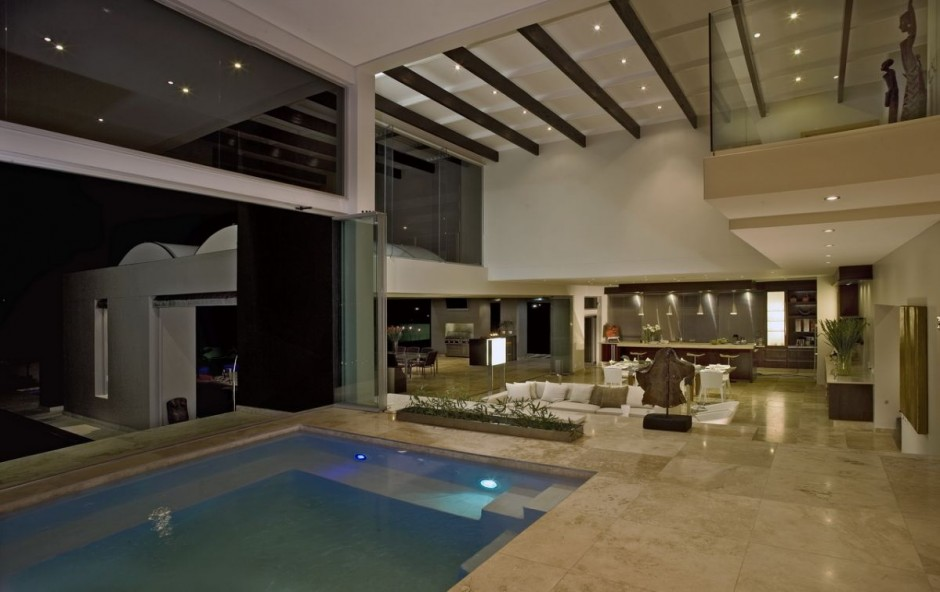 Lavish Modern Home In Johannesburg South Africa Luxury Mansions And Luxury Villas In Africa
