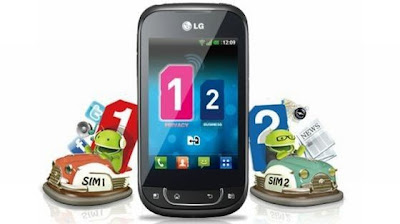 LG Optimus Net Dual SIM Android Mobile