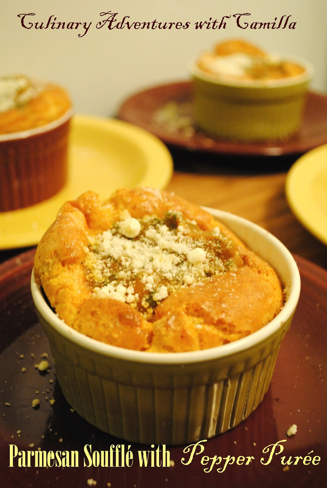 ... Camilla: Parmesan Soufflé with Citrus Pepper Sauce {#PepperParty
