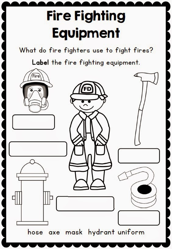 Fire Safety Printables And Support Resources on fire drill