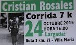 7k homenaje a Cristian Rosales (Villa María, San José; 24/oct/2015)