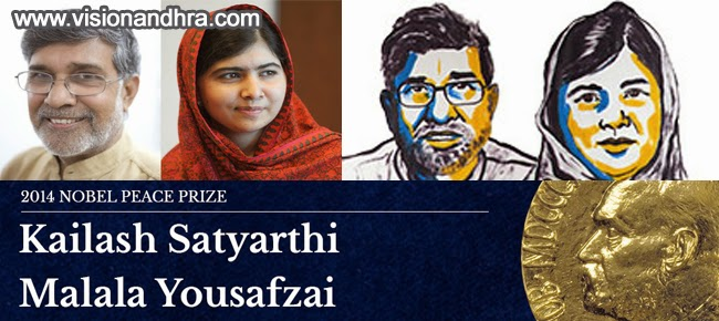 Kailash and Malala wins Nobel Peace Prize