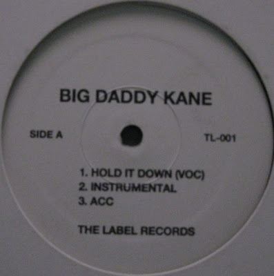 Big Daddy Kane ‎– Hold It Down / Unda Presha (VLS) (1998) (VBR)