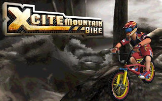 Screenshots of the Xcite mountain bike for Android tablet, phone.