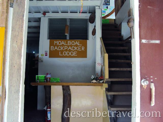moalboal backpacker lodge in panagsama beach