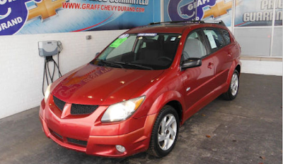 Used 2003 Pontiac Vibe for Sale Near Swartz Creek, MI