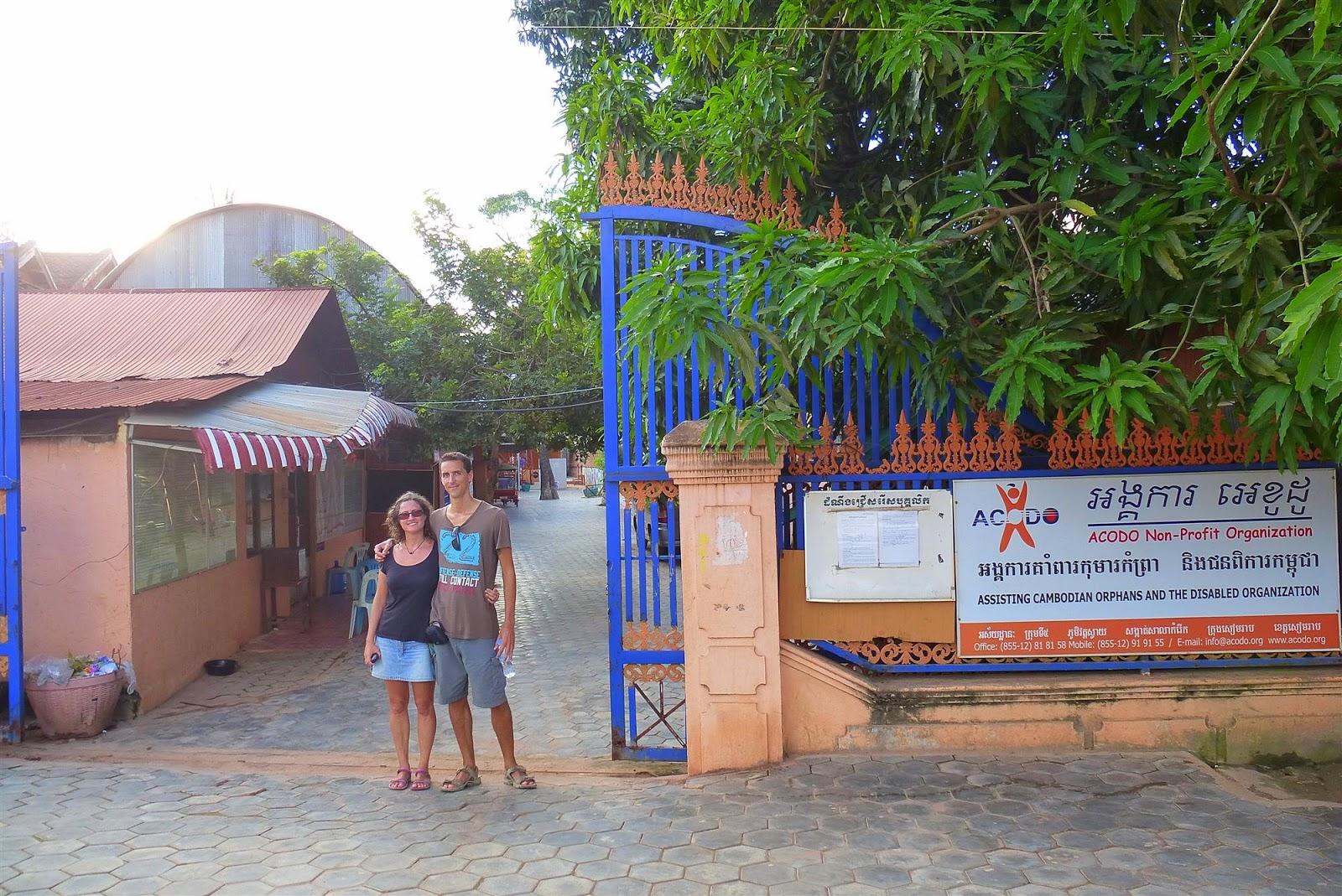 Casa de acogida ong y orfanato en siem reap camboya la aventura de pablo y elena - Casa de acogida ...