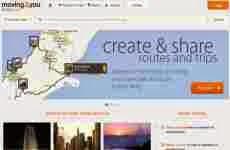 Moving2You: permite crear, compartir, y descubrir rutas e intinerarios de viajes a destinos de todo el mundo