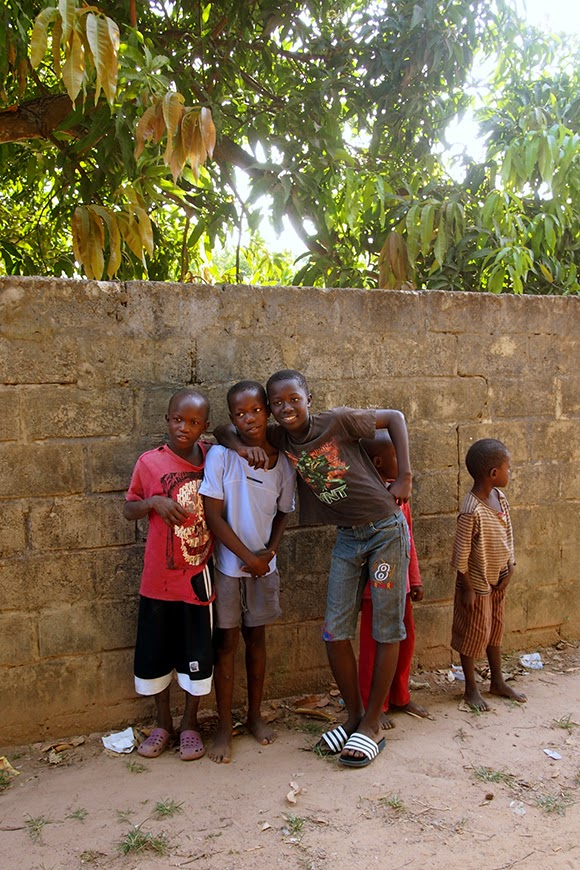 children in gambia