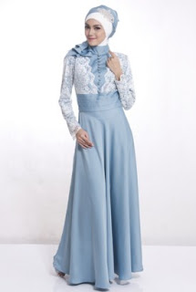 Model Busana Muslim Modern Untuk Pesta