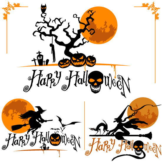 Halloween naranja y negro 1