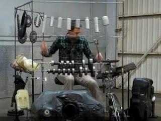 Unik, Video Alat Musik dari Suku Cadang