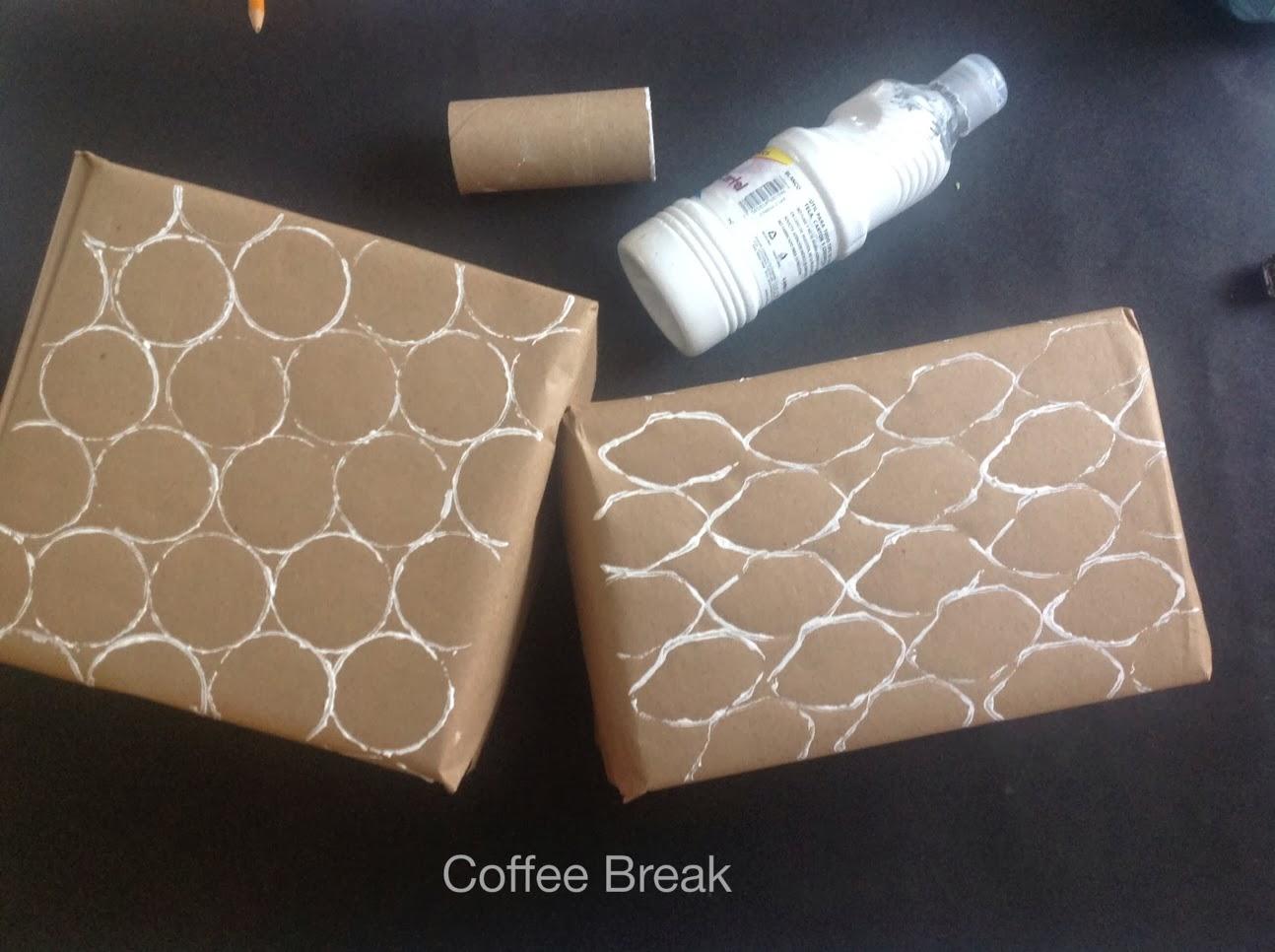 Coffee break envolturas creativas y recicladas para los for Envolturas para regalos