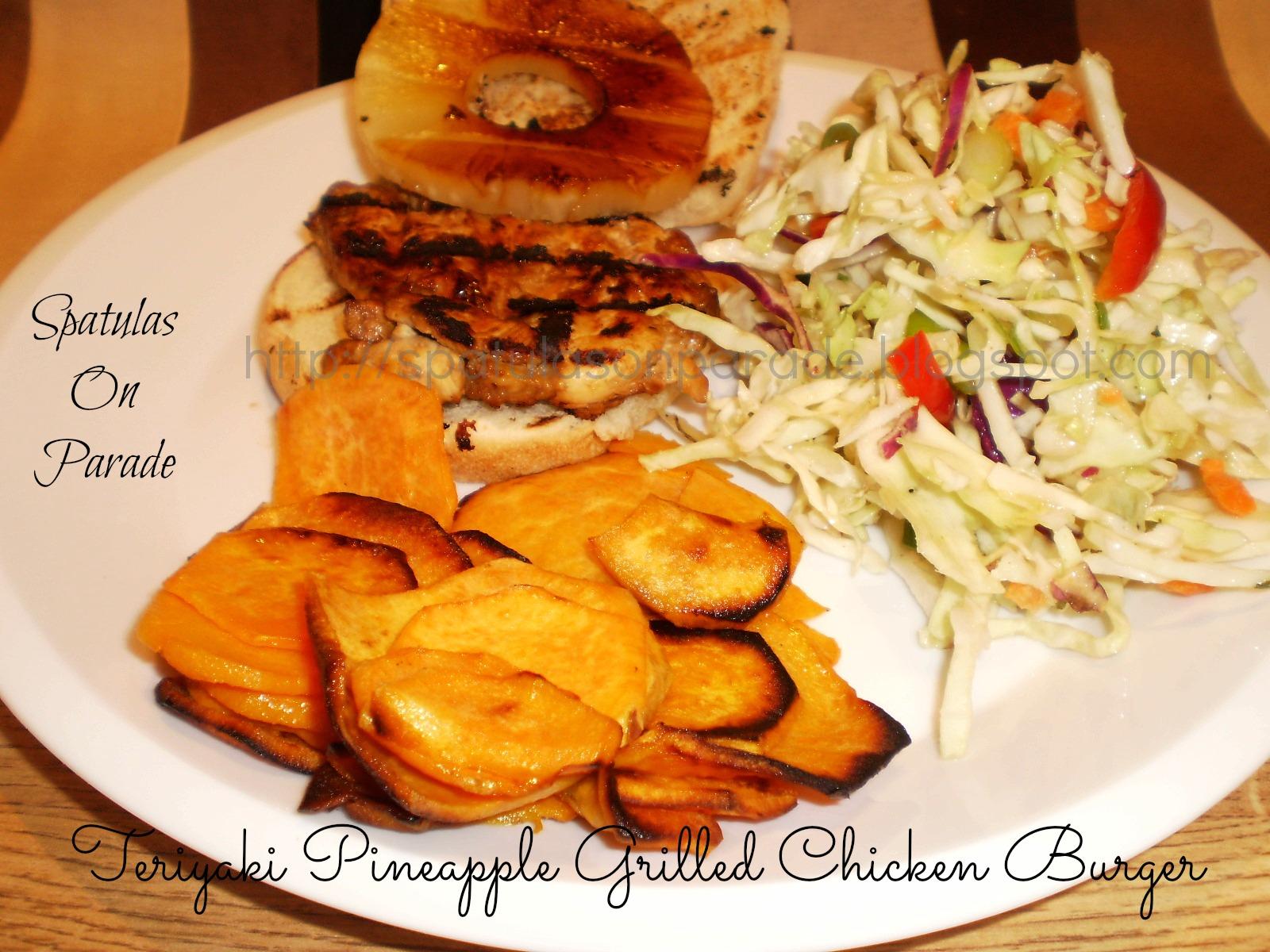Spatulas On Parade: Teriyaki Pineapple Grilled Chicken ...